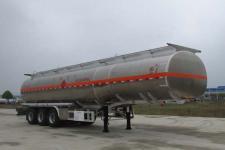 楚胜12.4米33.1吨3轴铝合金运油半挂车(CSC9407GYYLE)
