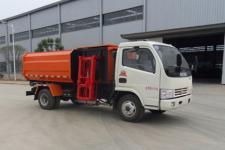 東風多利卡自裝卸式垃圾車多少錢