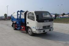 东风多利卡自装卸式挂桶垃圾车厂家