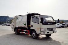 东风小多利卡全柴115马力6方压缩式垃圾车价格