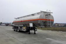 楚胜11.8米33吨3轴铝合金易燃液体罐式运输半挂车(CSC9401GRYL)