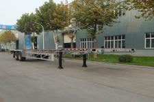 明航13.9米31.5吨2轴铝合金集装箱运输半挂车(ZPS9350TJZ)