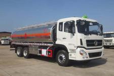 東風天龍后八輪15噸18噸20噸鋁合金輕量化油罐車運油車廠家