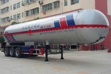 程力威13.7米26.3吨3轴液化气体运输半挂车(CLW9402GYQC)