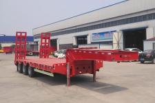 同强11米32吨3低平板半挂车