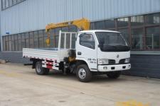 東風多利卡隨車起重運輸車的價格13607286060