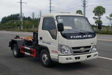 国五福田2方3方小型勾臂式垃圾车价格