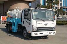 解放小卡自裝卸式垃圾車價格