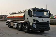楚胜牌CSC5250GYYLELA型铝合金运油车价格