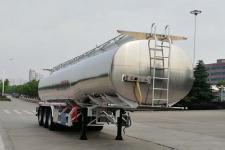 楚胜11.3米33.2吨铝合金食用油运输半挂车