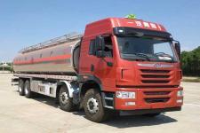 一汽青島解放前四后八22-25噸鋁合金運油車油罐車價格