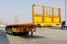华鑫联合11.5米31.8吨3轴平板自卸半挂车(HXL9404ZZXP)