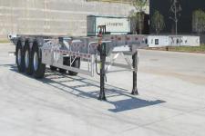 闽铝轻量化14米36.1吨3轴铝合金集装箱运输半挂车(FML9401TJZ453D1)