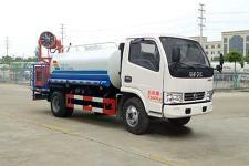 国六5吨洒水车楚飞牌CLQ5070GPS6型绿化喷洒车