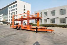 鸿昇达11.5米8.4吨2轴中置轴车辆运输挂车(YCY9161TCL)