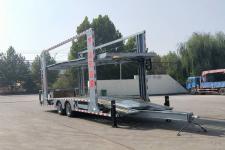 鸿昇达11.5米8.4吨2轴中置轴车辆运输挂车(YCY9160TCL)