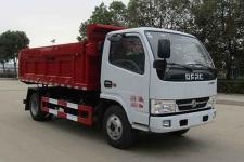 中汽力威牌HLW5071ZLJ6EQ型自卸式垃圾車