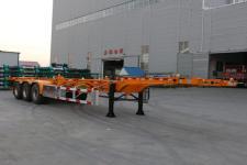 锣响12.5米34.2吨3轴集装箱运输半挂车(LXC9401TJZE)