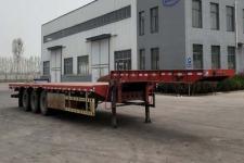 汇多通12.5米33.2吨3轴低平板半挂车(TJH9400TDP)