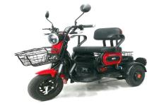 爱玛牌AM500DQZ-6型电动正三轮轻便摩托车图片