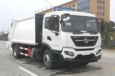 國六 東風新款14方壓縮式垃圾車價格