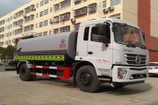 国六东风12-15吨绿化喷洒车价格