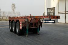 庄宇7.2米34.6吨3轴集装箱运输半挂车(ZYC9400TJZC)