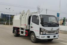 国六东风小多利卡6方压缩式对接垃圾车13607286060