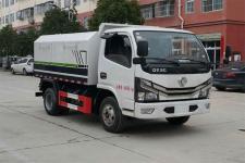 东风国六厢式垃圾车价格13607286060