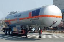 程力威11米29.6吨3轴易燃液体罐式运输半挂车(CLW9403GRYB)