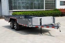 图强5.5米1.7吨2轴中置轴挂车(TQP9030)
