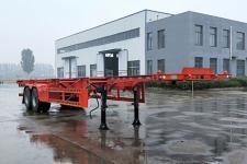 陆锋12.5米30.5吨2骨架式集装箱运输半挂车