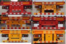 陆锋牌LST9351TJZG型骨架式集装箱运输半挂车图片