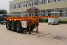 醒狮9.6米35吨3轴集装箱运输半挂车(SLS9401TJZ)