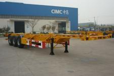 中集12.7米34.5吨3轴集装箱运输半挂车(ZJV9402TJZQD)