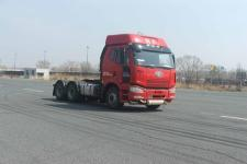 解放J6P420马力6X4危险品牵引车