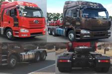 解放牌CA4250P66K2T1E5型平头柴油半挂牵引汽车图片