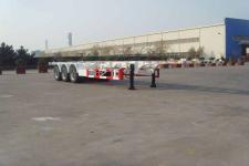 中集13米34.3吨3轴危险品罐箱骨架运输半挂车(ZJV9402TWYQD)