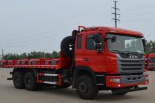 江淮牌HFC3251P1K6E41S3V型平板自卸车图片