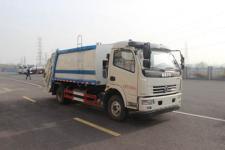 東風多利卡8方壓縮式垃圾車價格