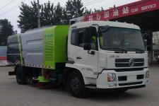 东风天锦国五扫路车价格