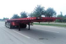 华鑫联合10米33.5吨3轴平板自卸半挂车(HXL9401ZZXP)