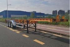 中集14米35.3吨3轴集装箱运输半挂车(ZJV9400TJZSZ05)
