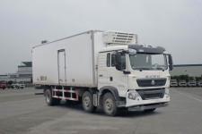 豪沃牌ZZ5257XLCM56CGE1型冷藏车