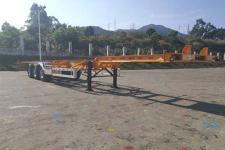 中集14米35.3吨3轴集装箱运输半挂车(ZJV9400TJZSZB)