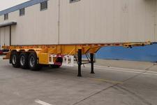 中集12.4米33.8吨3轴危险品罐箱骨架运输半挂车(ZJV9400TWYBYG)