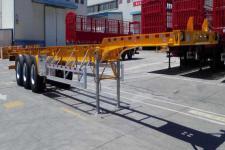 中集14米34.8吨3轴集装箱运输半挂车(ZJV9402TJZBYG)