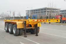 鸿盛业骏7.3米32吨3轴集装箱运输半挂车(HSY9370TJZ)