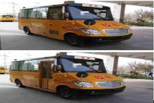 海格牌KLQ6539XQE5A型幼儿专用校车图片2