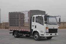 豪沃越野仓栅式运输车(ZZ2047CCYG332CE142)